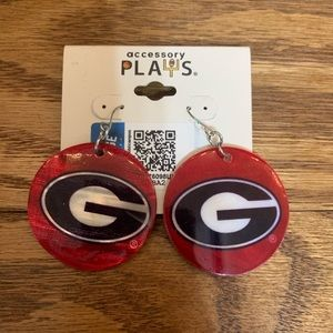 Jewelry - UGA earrings never worn!
